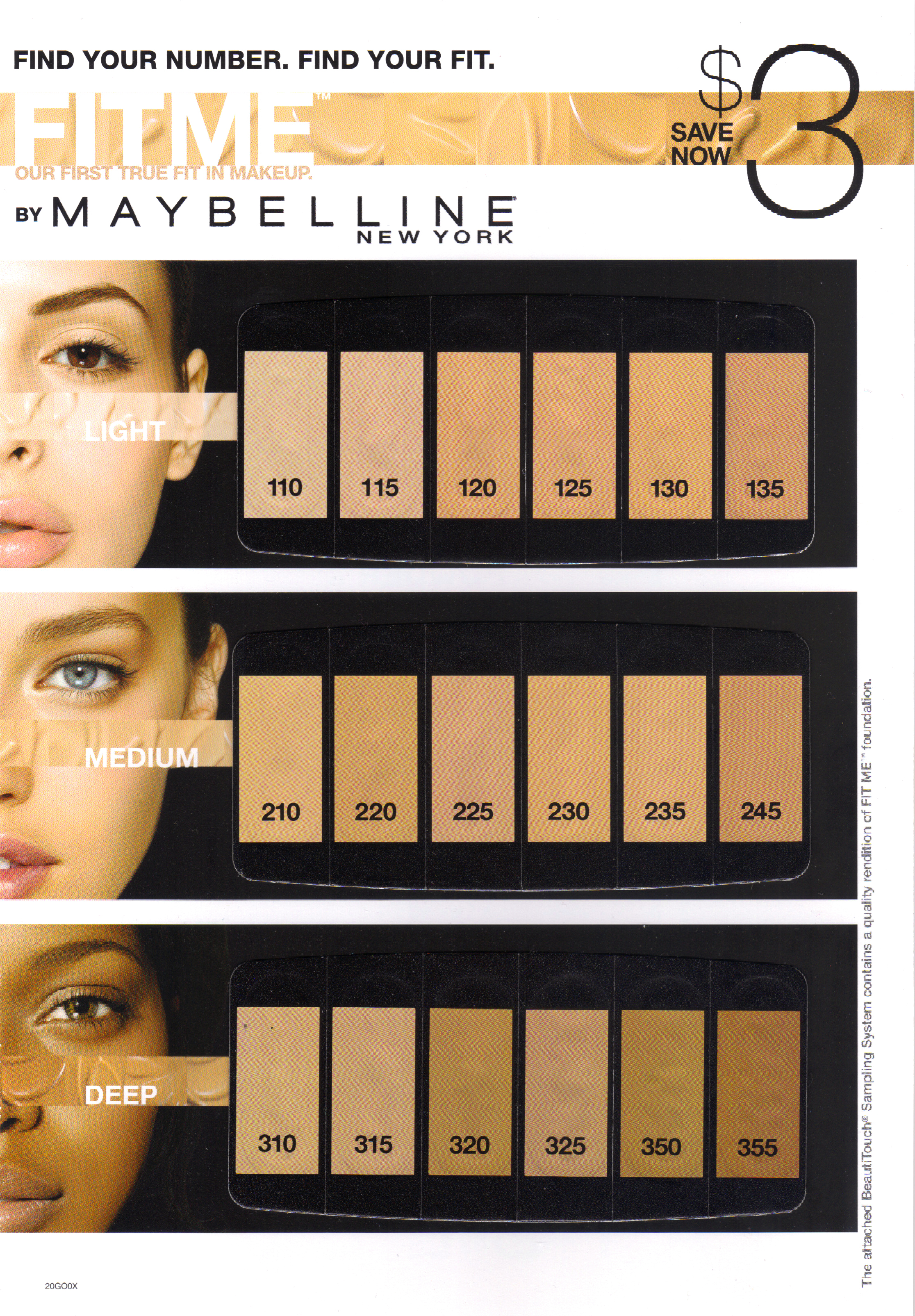 Maybelline's sle package ad