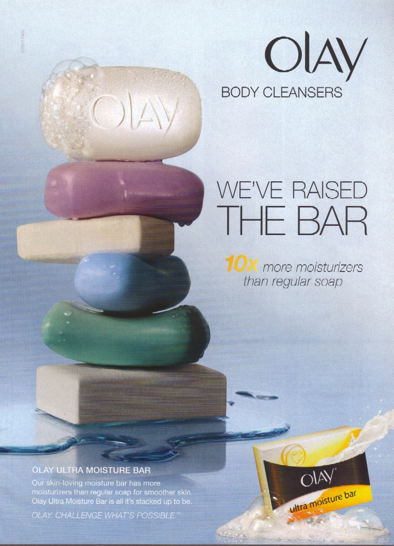 Witty Print Ads from Olay - Wspot-NYC